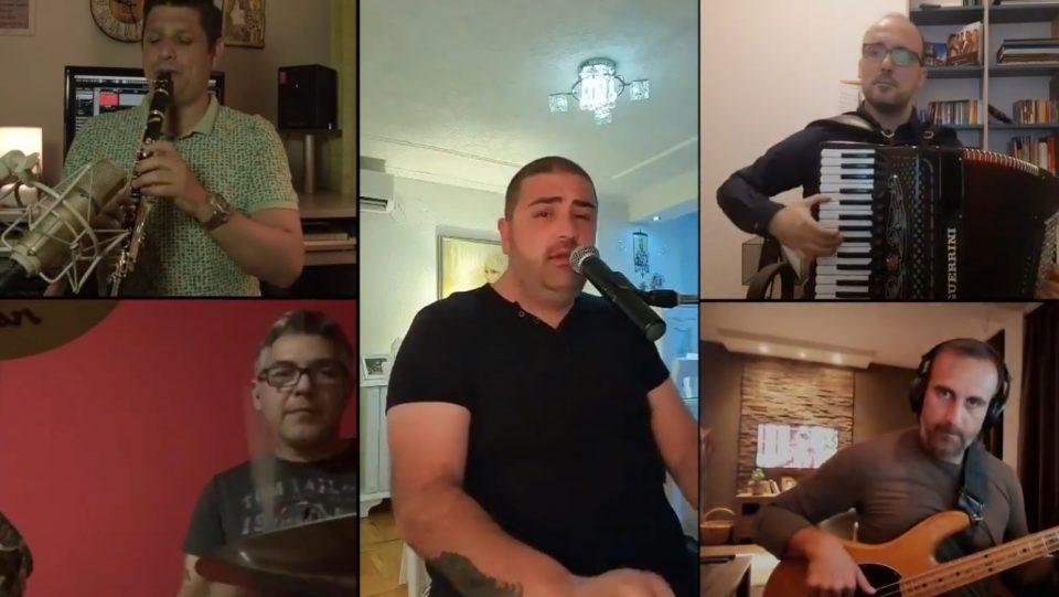 """Живко Динев и покрај сите забрани во домашни услови сними спот за неговото – """"Око забрането"""" (ВИДЕО)"""