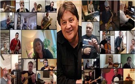 """Последен поздрав за Драган Вучиќ: """"Свирете ја зајди, зајди"""" во нова изведба на Олгица Христовска и триесетина музичари (ВИДЕО)"""
