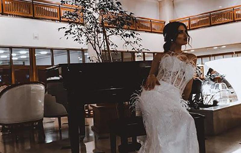 """""""Најважниот ден во мојот живот"""": По повод годишнина од бракот, Симона Поповска објави невидени фотографии од свадбата (фото)"""