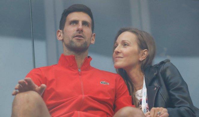 Најновите тестови на Новак и Јелена Ѓоковиќ покажаа: Тенискиот ас и неговата сопруга од денес се негативни на Ковид-19 (ФОТО)