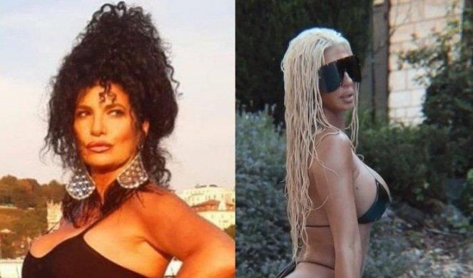 Лидија Вукиќевиќ и Јелена Карлеуша во исто бикини – на која подобро и стои?
