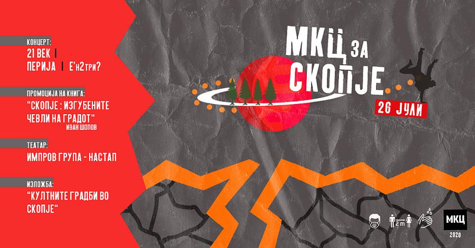 """""""МКЦ за Скопје"""" – мултимедијален настан по повод 57 години од катастрофалниот скопски земјотрес"""