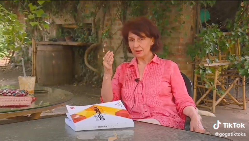 Гордана Сиљановска Давкова е првиот политичар во Македонија со профил на Тик Ток (ВИДЕО)