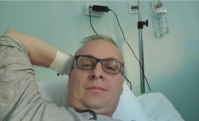 """Антонио Милошоски со порака од Инфективна: """"Јас сум добар, благодарност до мединицскиот персонал кој се грижи за мене"""" (ФОТО)"""