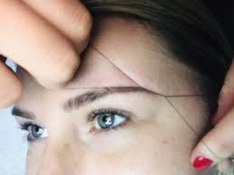 Дали сте пробале да ги обликувате веѓите со конец?