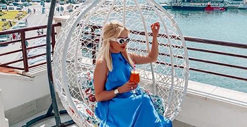 """Романтично и со стил: Елена Стефановска му искажа емоции на партнерот – """"Што повеќе од ова?"""""""