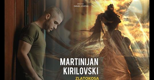 """Мартинијан Кириловски ја запозна јавноста со неговата """"Златокоса"""" (ВИДЕО)"""