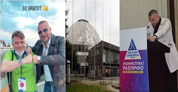 """Сите се против уривање на """"Универзална сала"""", само Миро Кацаров – """"ЗА"""", а еве и зошто: Петре Шилегов го вработи во """"Универзална сала"""" портпаролот на коалициониот партнер – ЛДП, само еден месец пред изборите"""