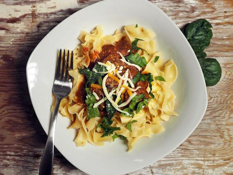 Рецепт на денот: Тестенини со зеленчук