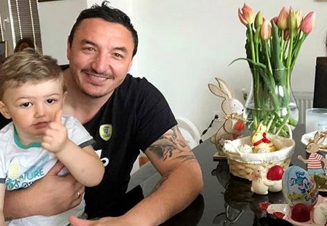 Борко со емотивна порака до својот син Душан, кој вака го бодреше тато (ФОТО)