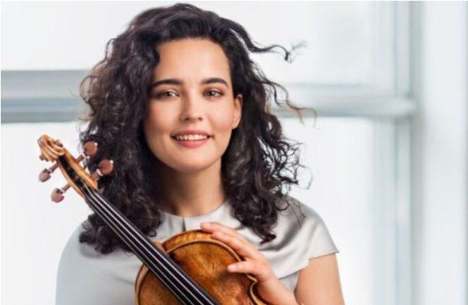 """Виртуозната руска виолинистка Алина Баева во четврток со свој настап во """"Македонската филхармонија"""""""