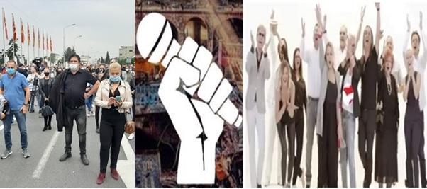 """(Е)страдните уметници на протест пред владата, """"ѕвездите"""" си останаа дома: Раздор до срж'… до коска!  (ФОТО)"""