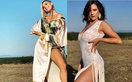 """Кога ќе се спојат две македонски секси убавици на едно место, настанува… """"Трепет"""" (ВИДЕО)"""