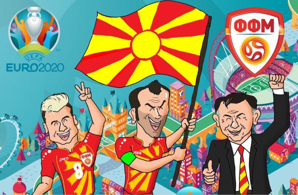 Солзи, емоции, радост… УЕФА со прекрасни 30 секунди издвоени за Македонија (ВИДЕО)