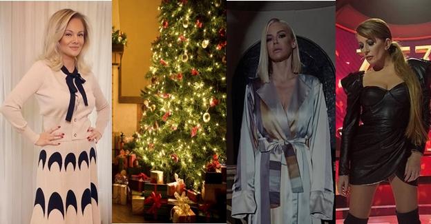Пејачките го украсија својот дом: Беквалац и Илда накитија елки со розови лампиони, а дома кај Вики е како во шопинг мол (ФОТО)