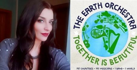 """Андријана Јаневска – Македонка во светскиот музички проект """"Together Is Beautiful"""" (АУДИО)"""