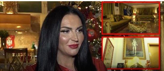 Златна соба, статуа на ѓавол и ангели: Ѕирнете во домот на пејачката која призна дека се занимава со проституција
