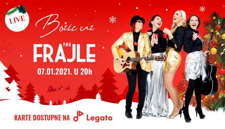 """На Божиќ: Онлајн акустичен концерт на """"Фрајле"""""""