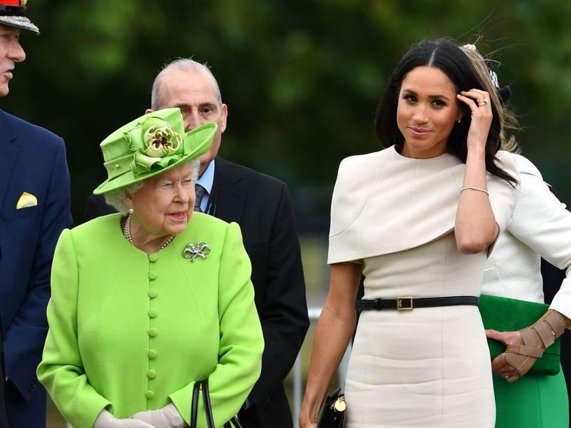 Eве како кралицата Елизабета реагираше на спонтаниот абортус на Меган Маркл