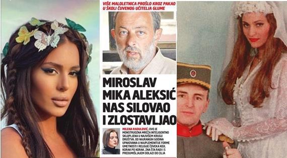 Анастасија Ражнатовиќ земала часови кај силувачот од училиштето за глума, а манијакот дури и ја снимал свадбата на векот, на Аркан и Цеца! (ФОТО)
