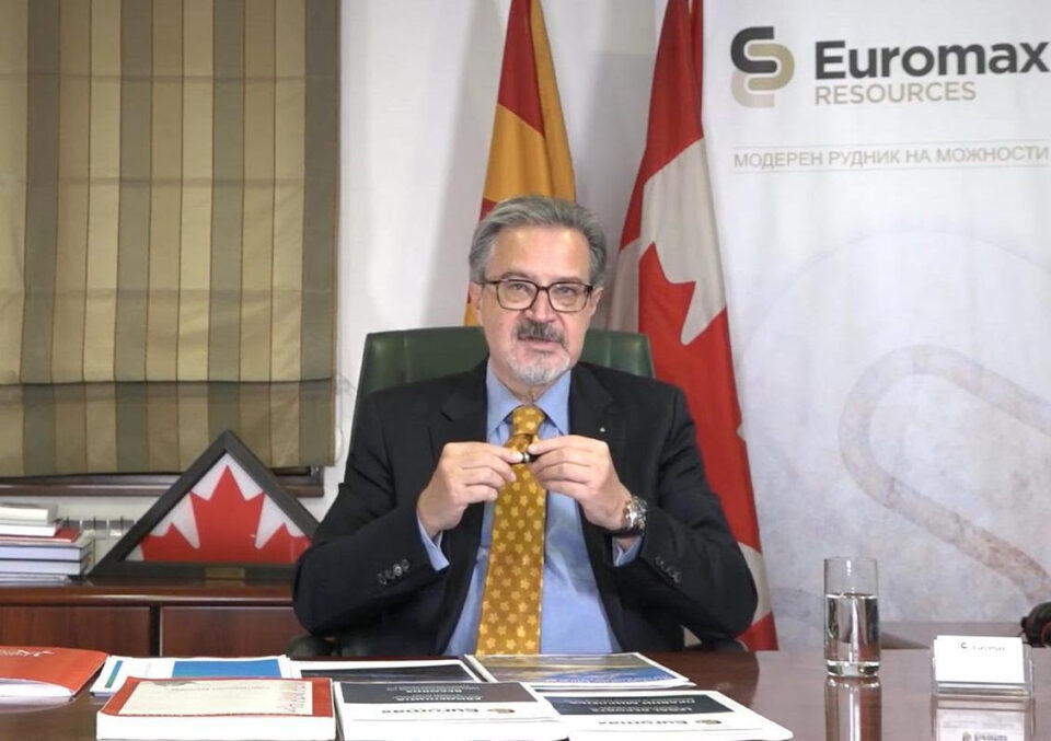 Еуромакс ресоурцес: Иловица-Штука може брзо да ја заздрави македонската економија