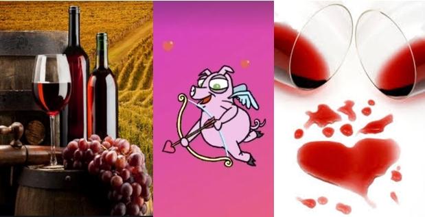 Вака дел од познатите Македонки го славеа празникот: Која Св. Трифун, која Св. Валентин, која обата… со вино, цвеќе, прегратки, пораки, песни и пози во постела од рози! (ФОТО)