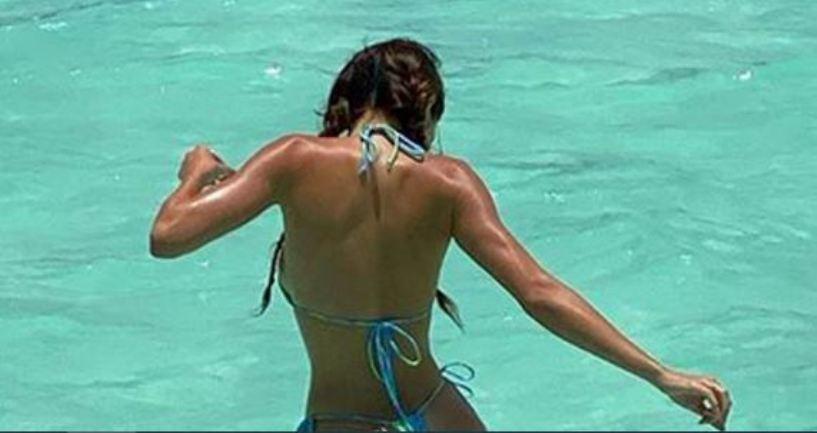 Брутално секси и без силикони: Кендал Џенер во новото бикини издание собра 9 милиони лајкови (фото)