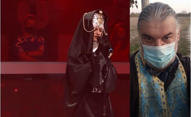 """Марија Груевска бриљираше во """"Ѕвездите на Гранд"""", а дел од српските медиуми """"се фатија"""" за татко и: """"На попот не му се допадна калуѓерскиот имиџ на ќерка му, па си замина од бекстејџот""""?! (ВИДЕО)"""