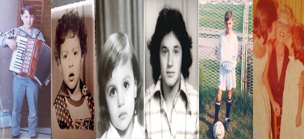 Денеска се популарни, славни, јавни личности, вистински ѕвезди: Ќе препознаете ли како изгледале некои од најпознатите Македонци како деца? (ФОТО)