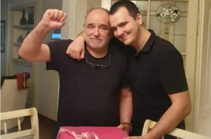 """""""Животот почнува со една свеќа на торта, а завршува со една свеќа без торта"""": Синот на Ѓорѓе Балашевиќ емотивно на денот на раѓањто на неговиот славен татко (фото)"""