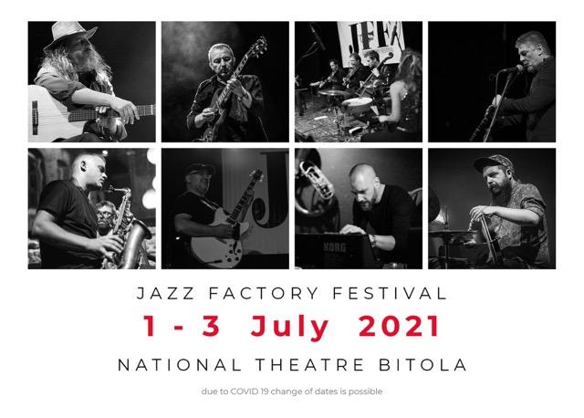 "Од 1-ви до 3-ти јули во Битола:  Џез фестивал ""Jazz Factory"""