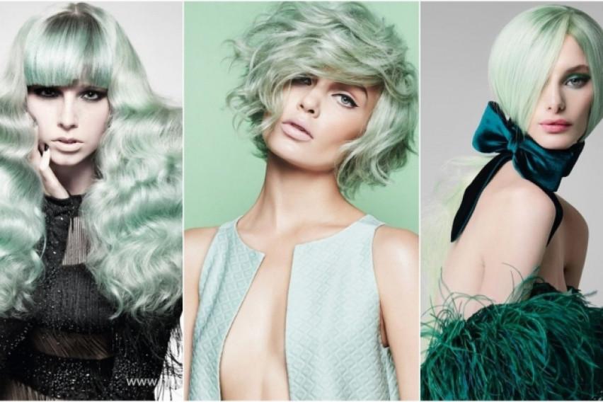 Летен хит: Минт нијанса за коса