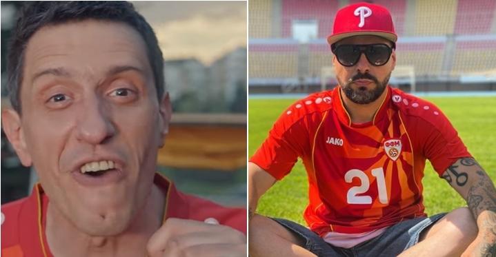 """Саше Љолес и Панчо – ДНК влегоа во конфликт… или само во полемика: """"Има само една и единствена навивачка химна за нашите фудбалери и се вика…?"""" (ФОТО)"""