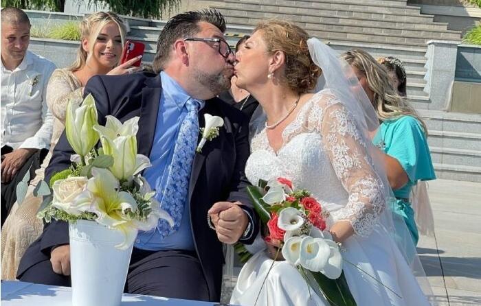 """Се ожени шеф Марк од """"Брза кујна"""": Со зурли и тапани и бакшиш на чело, семејна свадбена веселба на Камник ( ФОТО+ВИДЕО)"""