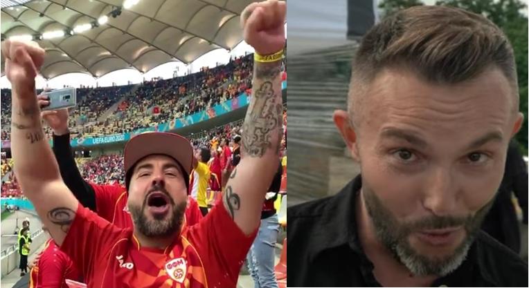 Секој со својот сон: Панчо – ДНК ја пееше македонската химна и навиваше на стадионот во Букурешт, а Васил Гарванлиев пееше на геј парада во Бугарија (ВИДЕО)