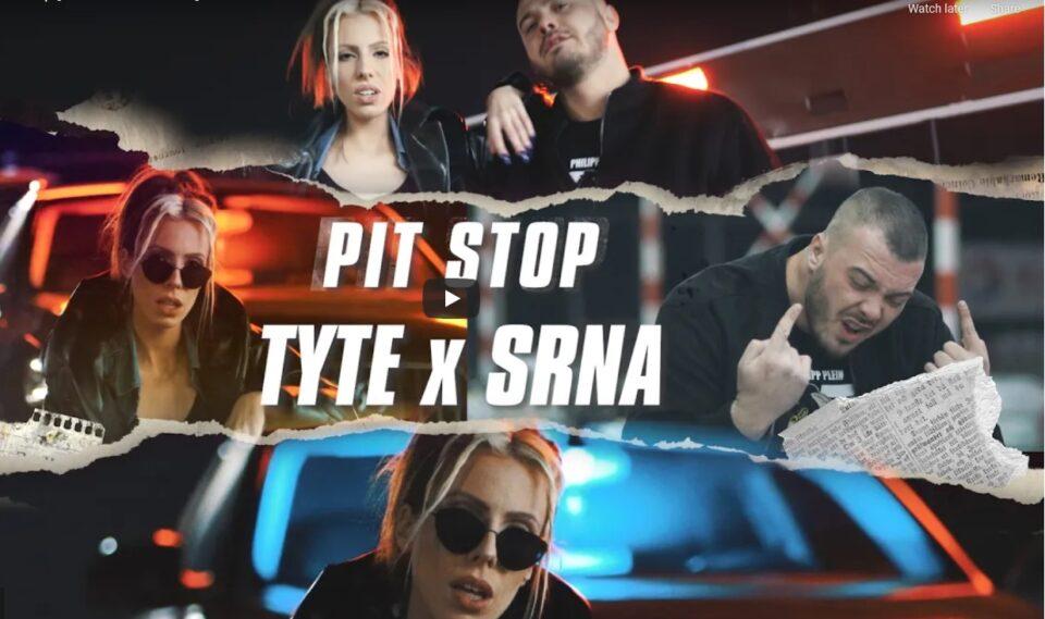 """Tyte X Srna – брачната рап двојка во првата заеднича тема и спот за – """"Pit Stop"""" (ВИДЕО)"""