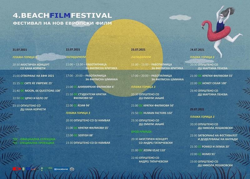 Beach Film Festival во Охрид