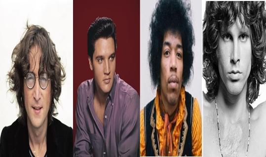 Вака ќе изгледаа великаните на рок ен ролот денес, да беа живи: Џон Ленон, Елвис Присли, Џими Хендрикс, Џим Морисон… (ФОТО)