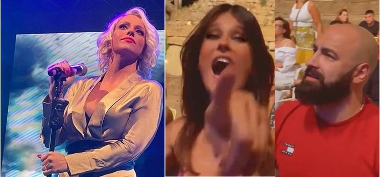 """Тамара растури, """"го урна"""" Антички во Охрид, а Катарина Ивановска """"одлепи"""" на нејзиниот концерт, па за малку """"ќе го урнеше"""" Перо Антиќ (ФОТО)"""