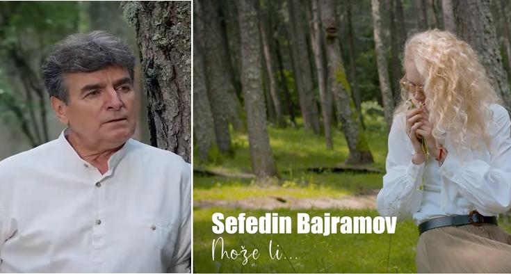 """Сефедин Бајрамов го врати мирисот на старите шансони и шлагери со – """"Може ли"""" (ВИДЕО)"""