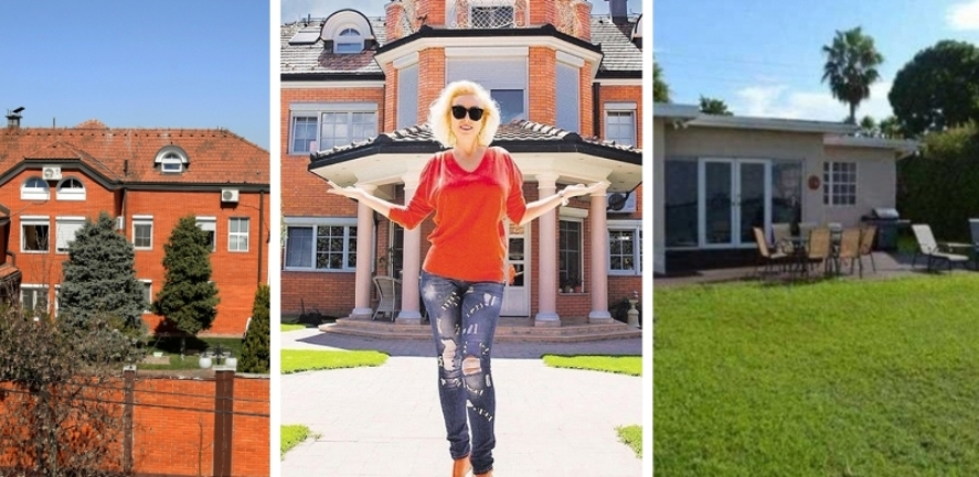 Далеку од луксузот во Белград: Лепа Брена во Мајами живее во монтажна куќа (фото)