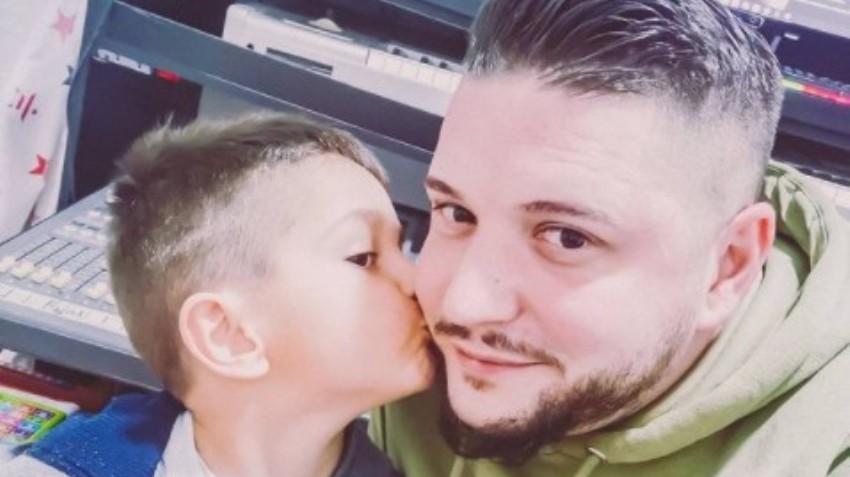 Димитар Андоновски ќе стане татко по вторпат: Заедно со синчето Михаил го открија полот на бебето (видео)