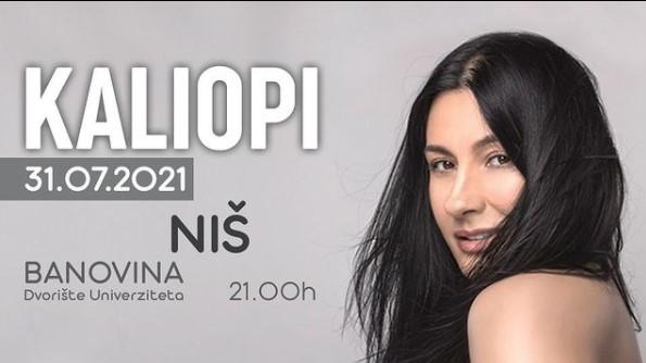 Калиопи во сабота ќе одржи концерт во Ниш