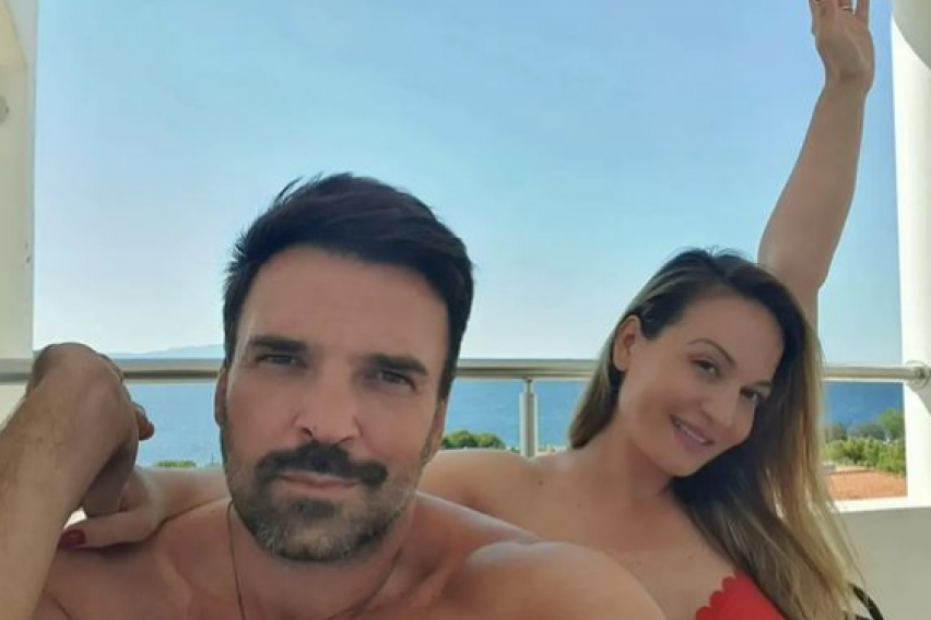 ФОТО: Сопругот на Јелена Томашевиќ споделил прекрасна фотографија со ќерката Нина