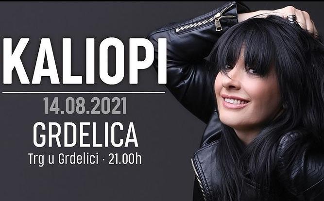 Калиопи викендов ќе одржи концерт во Грделица (фото)