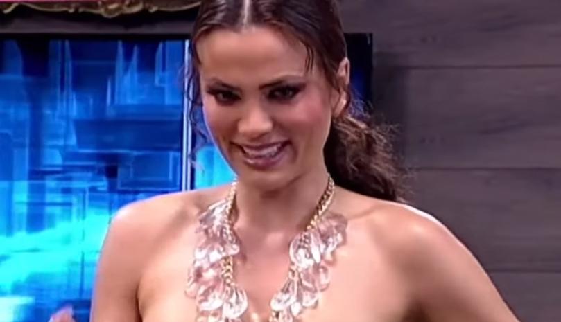 """Милица Павловиќ се соблече во живо во емисија кај """"Ами Џи"""": """"Не сум кукавица, ама… сигурно нема камера одзади?"""" (ВИДЕО)"""