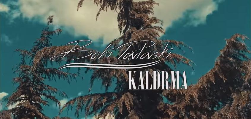"""Боби Павловски со песна ќе ве прошета по неговата – """"Калдрма"""" (ВИДЕО)"""