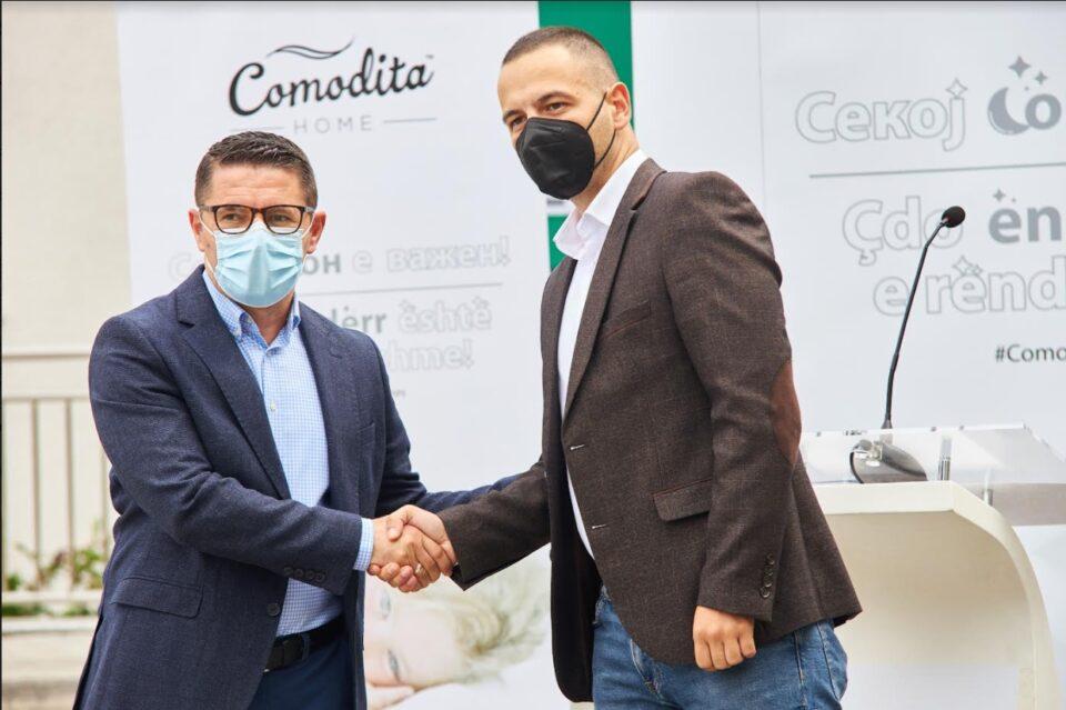 """""""Секој сон е важен"""": Comodita Homeдонираше душецина Детска Клиника Козлевовредност од над 100 000 евра!"""