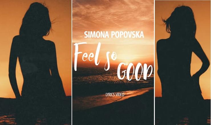 """Симона Поповска по мајчинството се враќа на сцената – """"Feel so good"""" (ВИДЕО)"""