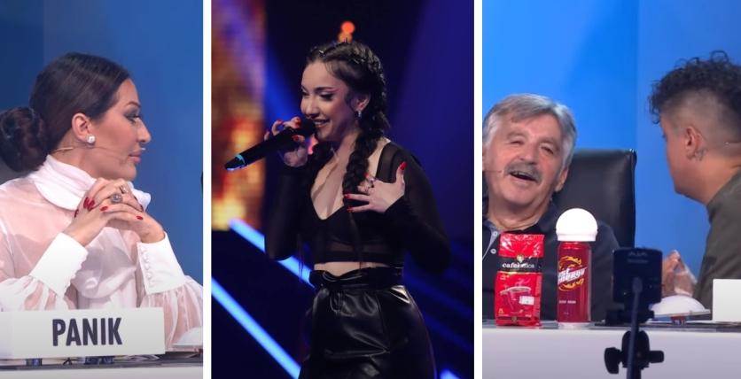"""Mлада, згодна, ведра: Оваа Македонка настапуваше во """"Ѕвездите на Гранд"""", па го скара жирито – """"Аман, замолчи жено да кажам и јас една реченица""""  (видео)"""